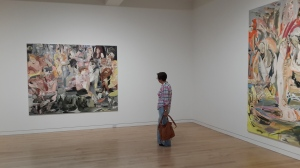 Cecily Brown exhibition, Gagosian, Madison Av. June