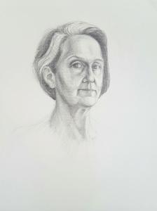 Self portrait March 2017